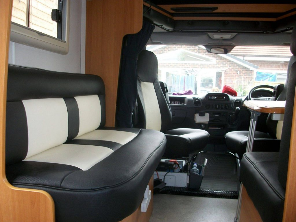 motorhome leather